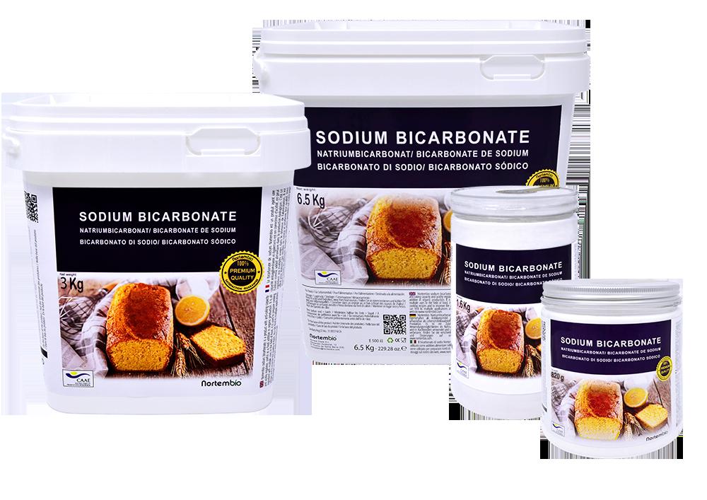 Bicarbonato de sodio alimentario