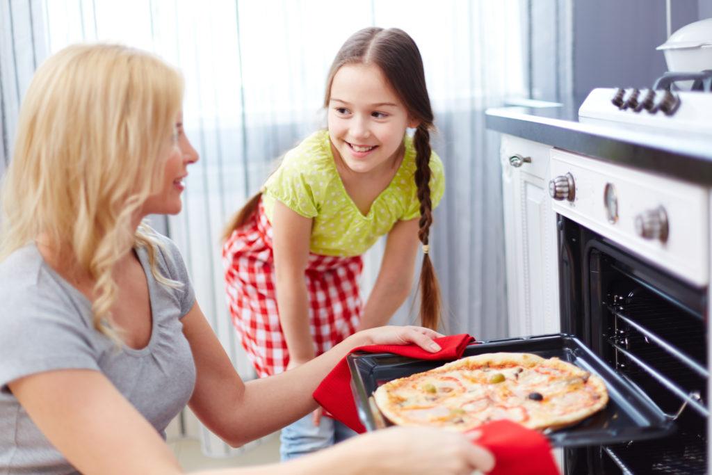 hornear pizzas caseras