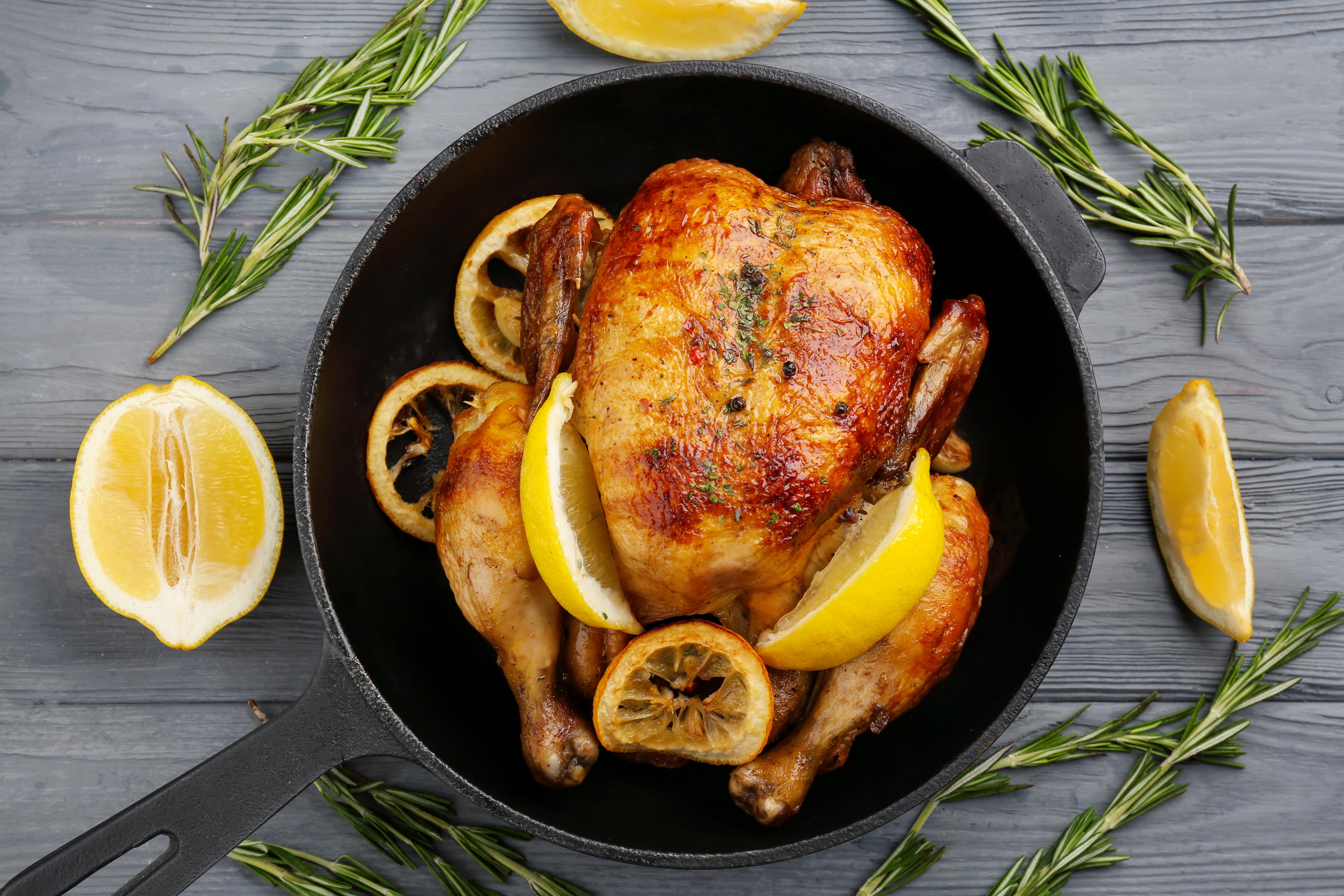 cocinar pollo jugoso