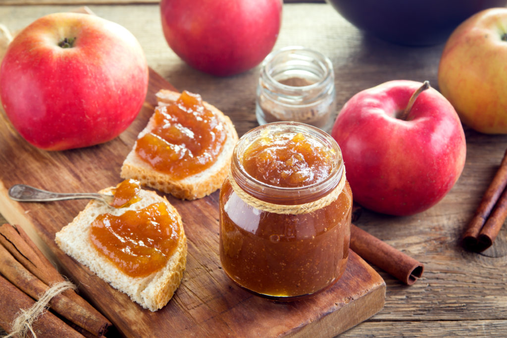 mermelada casera de manzana