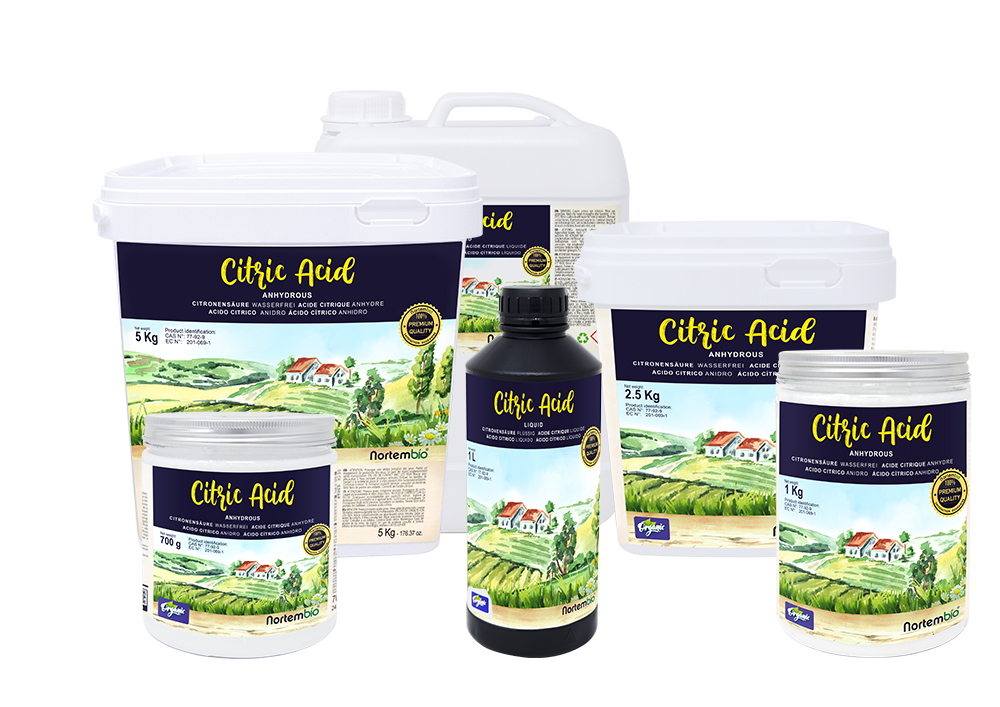 ácido cítrico anhidro