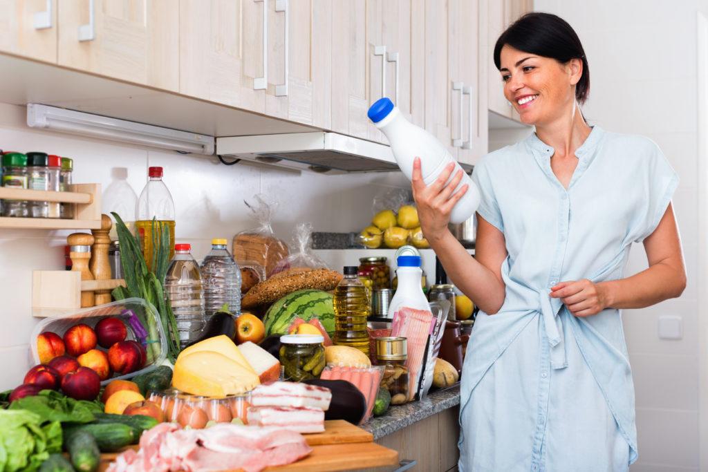 lavar envases y desinfectar frutas y verduras