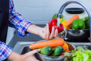 lavar y desinfectar frutas y verduras