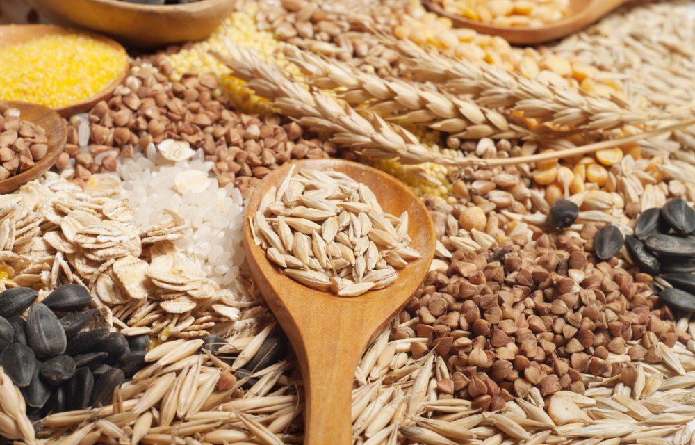 cereales en la dieta vegetariana