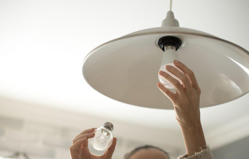 bombillas LED para ahorrar energía