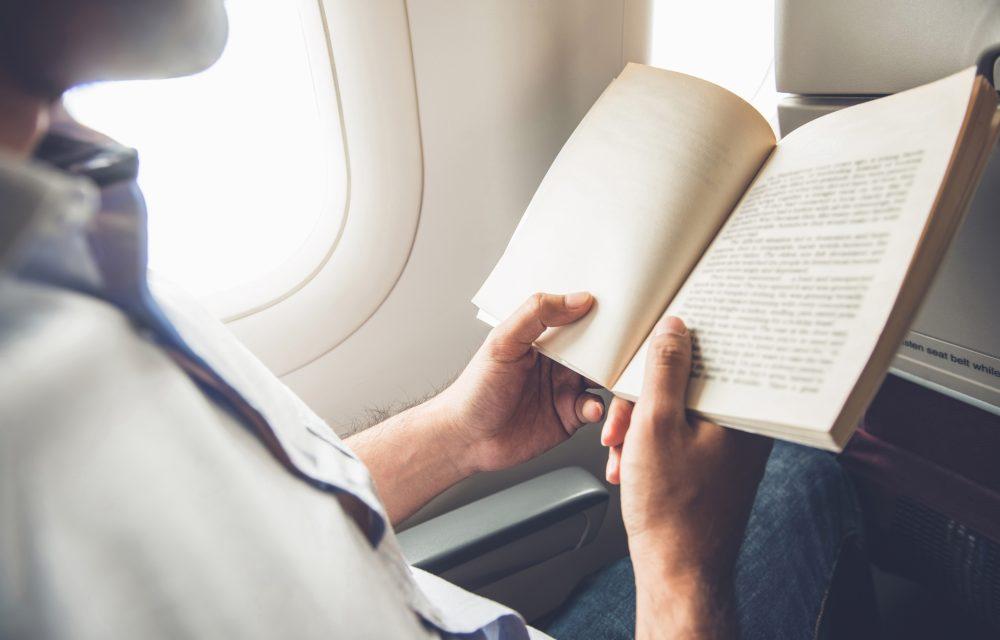 leer para combatir el miedo a volar